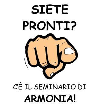 SEMINARIO DI ARMONIA